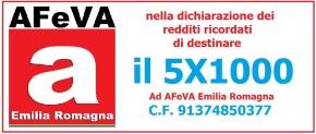 5×1000 anno 2018: sostieni l'Associazione Familiari Vittime dell'Amianto EmiliaRomagna