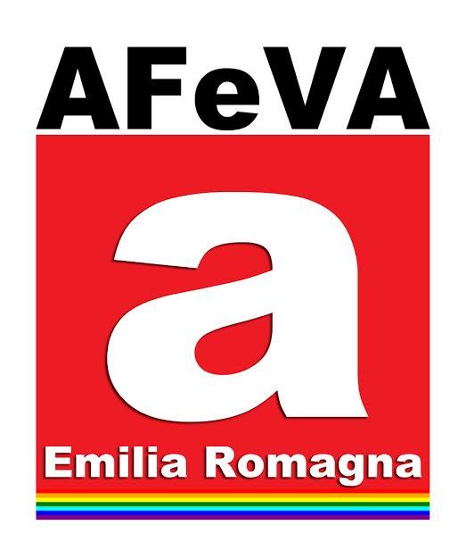 AFEVA logo bianco ombr