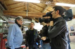 Andrea Caselli presidente AFEVA la RAI 5