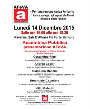 Ravenna: assemblea pubblica di presentazioneAfeva
