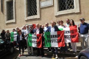 La delegazione AFeVA ER - AFeVA Casale Monferrato - CGIL Nazionale