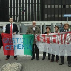 OGR Bologna, CEMENTAL Correggio: una giornata, due tribunali, stessa richiesta – giustizia per le vittime dell'amianto