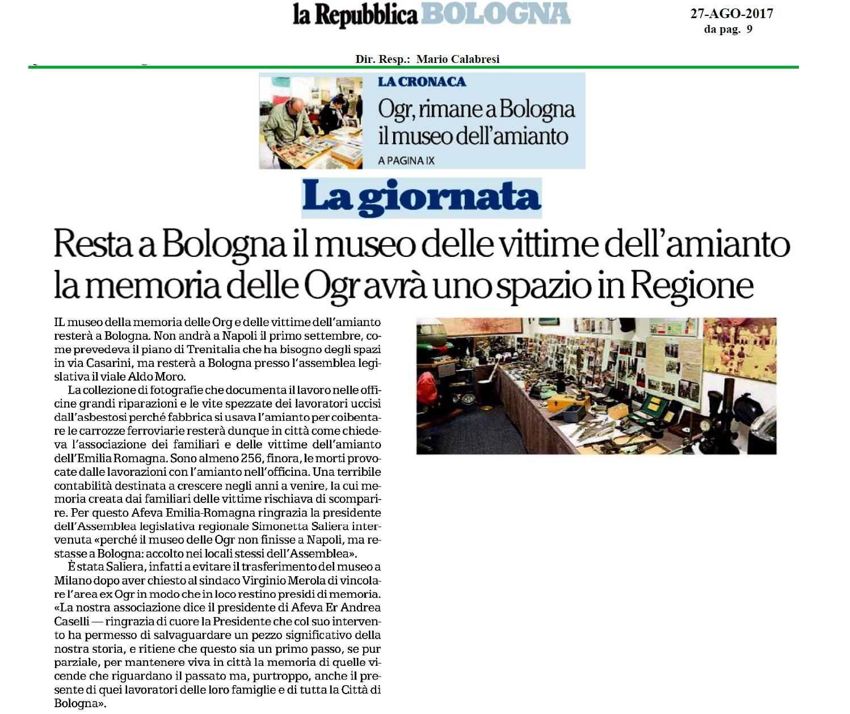Velocità di lavoro risalente Bologna