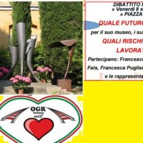 Futuro e Memoria delle OGR: un confronto alla festa dell'Unità diBologna