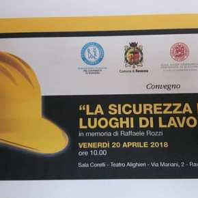 """A Ravenna ancora con gli studenti: AFeVA Ravenna al convegno """"la sicurezza nei luoghi di lavoro"""" intitolato a RaffaeleRozzi"""