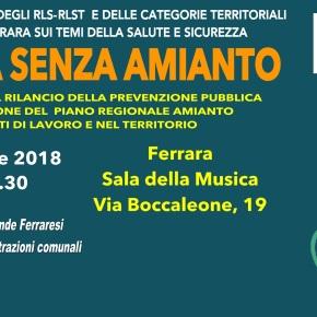 FERRARA SENZA AMIANTO: IL PIANO AMIANTO REGIONALE EMILIA ROMAGNA -13 APRILE2018