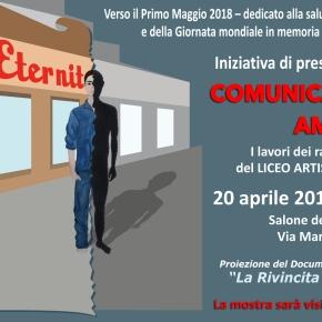 """20 aprile 2018: Iniziativa di presentazione mostra ISART e anteprima Documentario Inchiesta """"La rivincita di Casale Monferrato"""" di RosyBattaglia"""