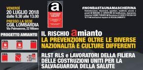 """Convegno """"Progetto Amianto"""" Milano 20 luglio: tutta la documentazione ed i video dellagiornata"""