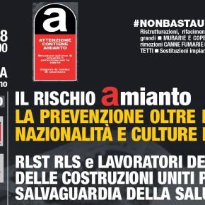 Milano 20 luglio 2018: Presentazione del progetto Amianto per la protezione dei lavoratoriedili