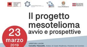 Casale Monferrato: Il Progetto mesotelioma – avvio e prospettive. I video e la documentazione del convegno del 23 marzo2019