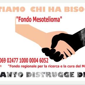 Fondo Mesotelioma: Cura e ricerca sul mesotelioma, aperto un conto corrente della Regione Emilia-Romagna per i contributi dei cittadini e dei familiari delle vittime dell'amianto