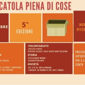 """A Cento (FE) Serata 21/9 """"Una scatola piena di Cose"""" con la partecipazione di AFeVA Emilia Romagna – """"Amianto: un dramma di ieri, oggi,domani"""""""