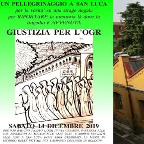 SALVATORE FAIS: Giustizia per l'OGR – un pellegrinaggio a San Luca per la verità – Sabato 14 dicembre2019