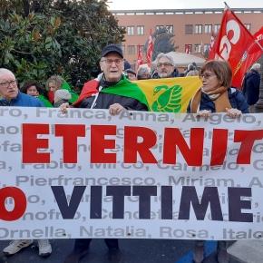 Tribunale di Vercelli – Processo ETERNIT: Rinvio a giudizio per omicidio volontario di Stephan Schmidheiny, la lettera della Presidente di AFeVA GiulianaBusto