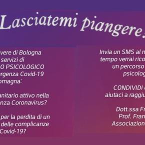 PRONTO SOCCORSO PSICOLOGICO GRATUITO: Iniziativa dell'Associazione RIVIVERE di Bologna per assistere le persone in tempi diCORONAVIRUS
