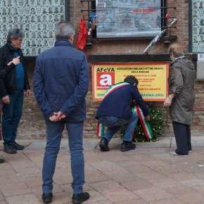 27 aprile 2021 – a Bologna, cerimonia in memoria delle vittime dell' amianto e dellavoro