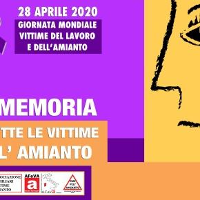 Giornata Mondiale delle Vittime Amianto 28 aprile 2020: Tutte le iniziative in tempi diCoronavirus